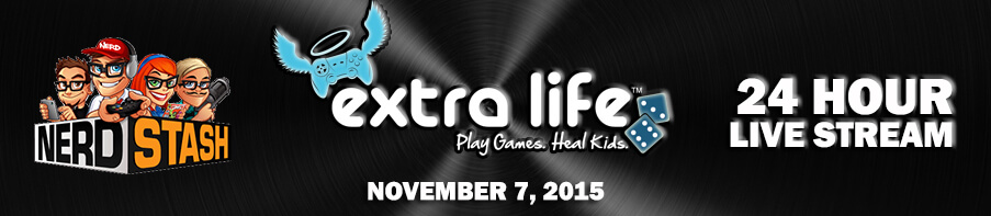 ExtraLife Banner 24 hour streaming banner