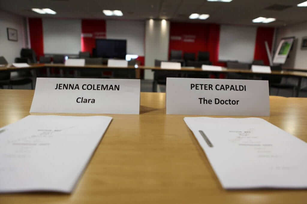 Doctor Who Episode 5 Read Through TODAY!