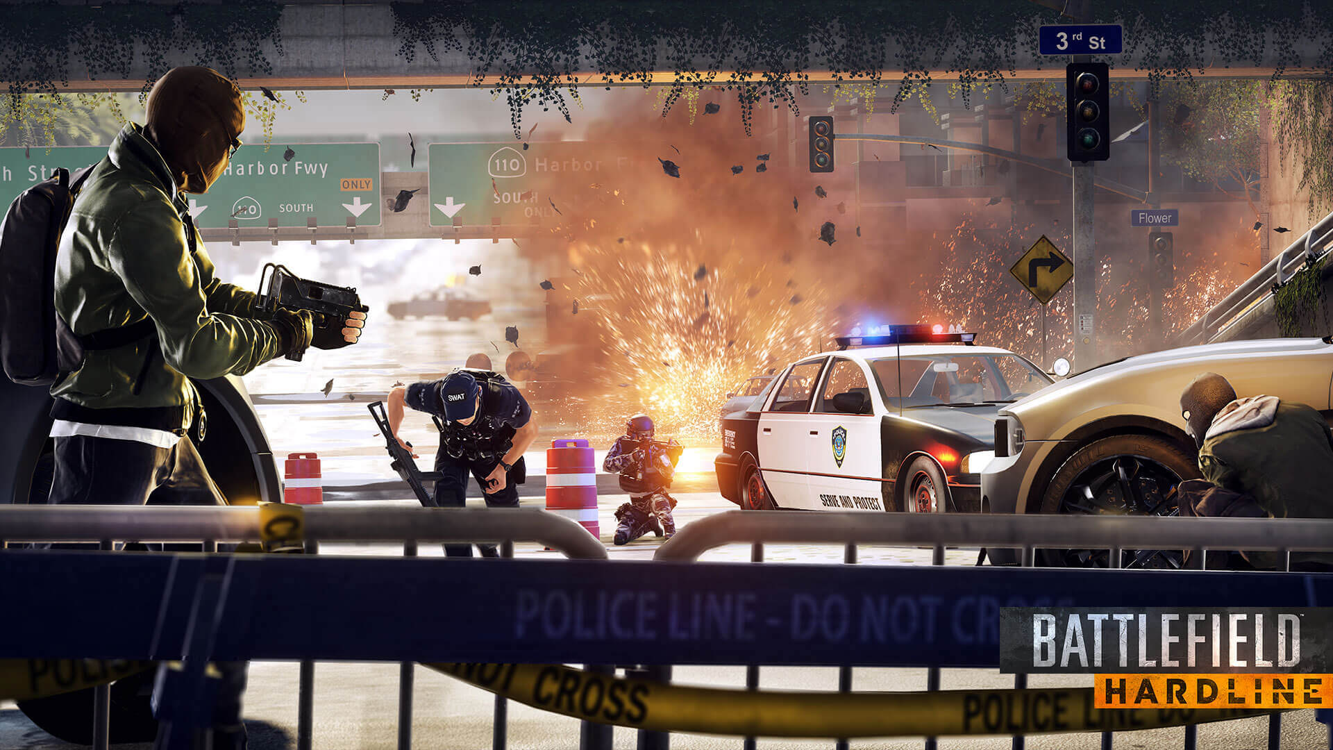 Battlefield Hardline - Live Action Trailer