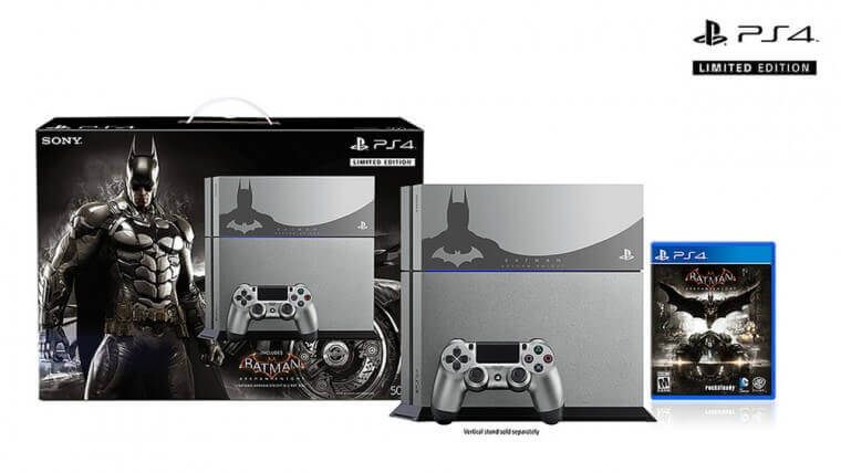 The steel grey PS4 bundle is $449.99