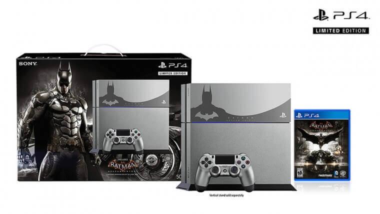 The steel grey PS4 bundle is $449.99