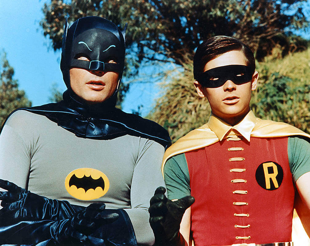 Adam West and Burt Ward in New Batman Movie