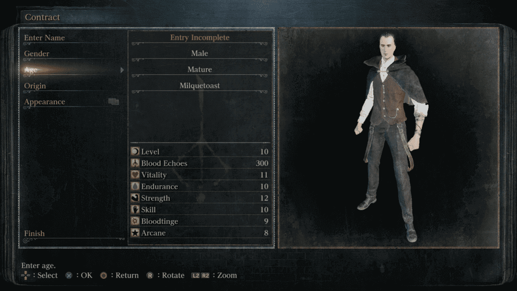 Character creation is a fun aspect to tinker with