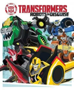 The core team of Autobots in TF: RID