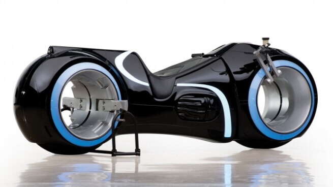 Life Size Tron Light Bike Being Auctioned Off