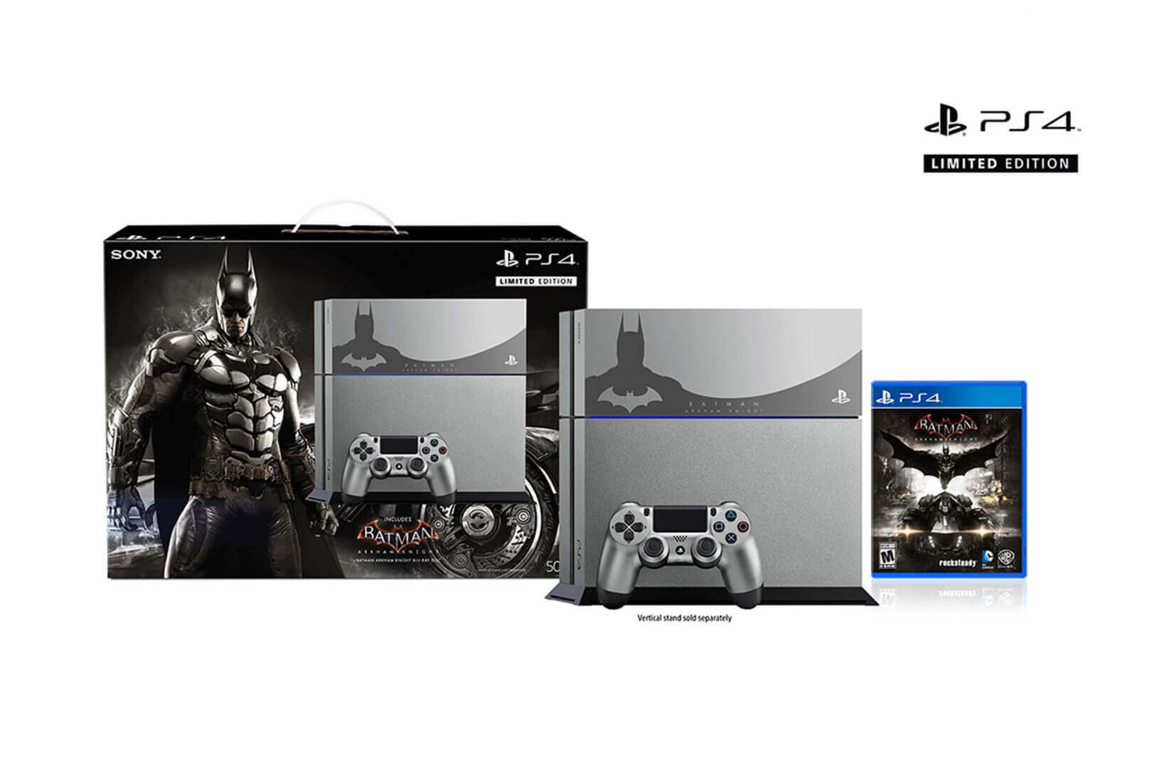 Two Batman Arkham Knight PS4 Bundles Incoming