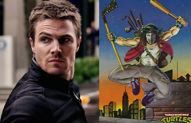 The Arrow's Stephen Amell as Casey Jones?!