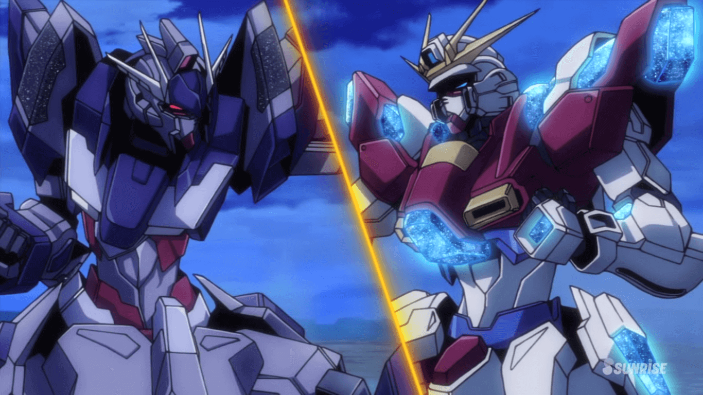 Gundam Build Fighters Try Build Burning Gundam Wallpaper Try Burning Gundam