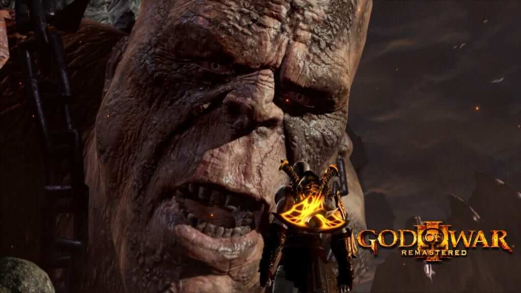 Coming Soon: God of War 3 Remastered for the PS4
