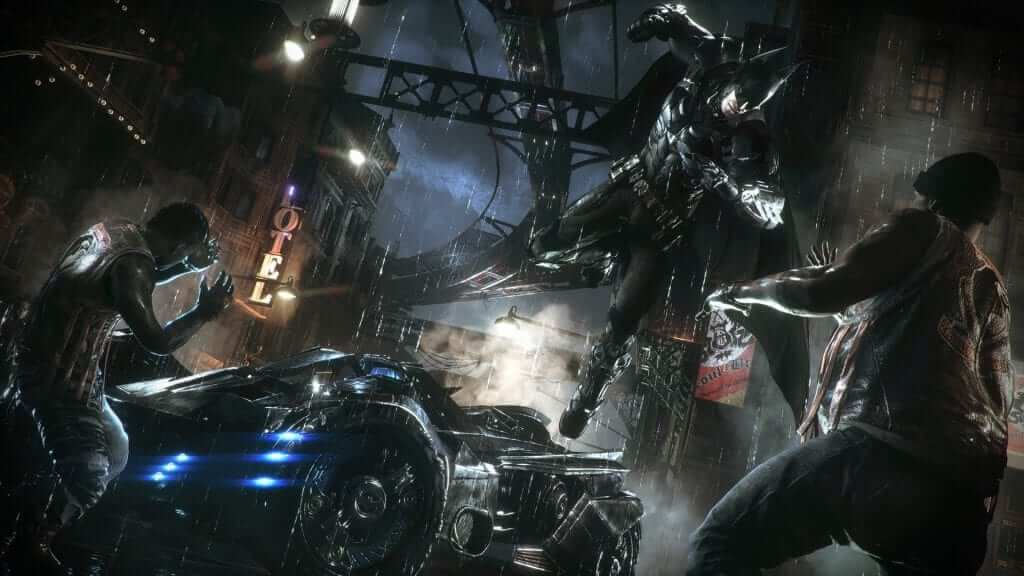 Batman: Arkham Knight is Hardboiled Noir Goodness
