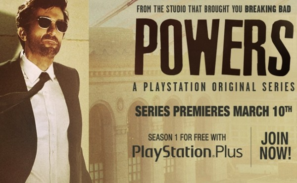 'Powers' Finds a Home on Playstation
