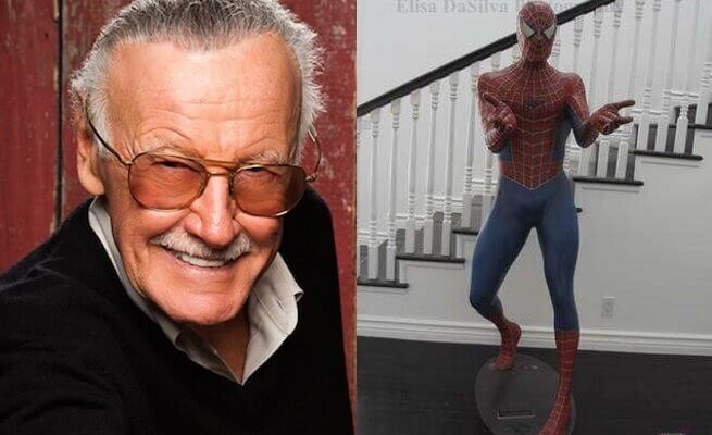 Stan Lee Selling Home with Life-Sized Spider-Man Statue