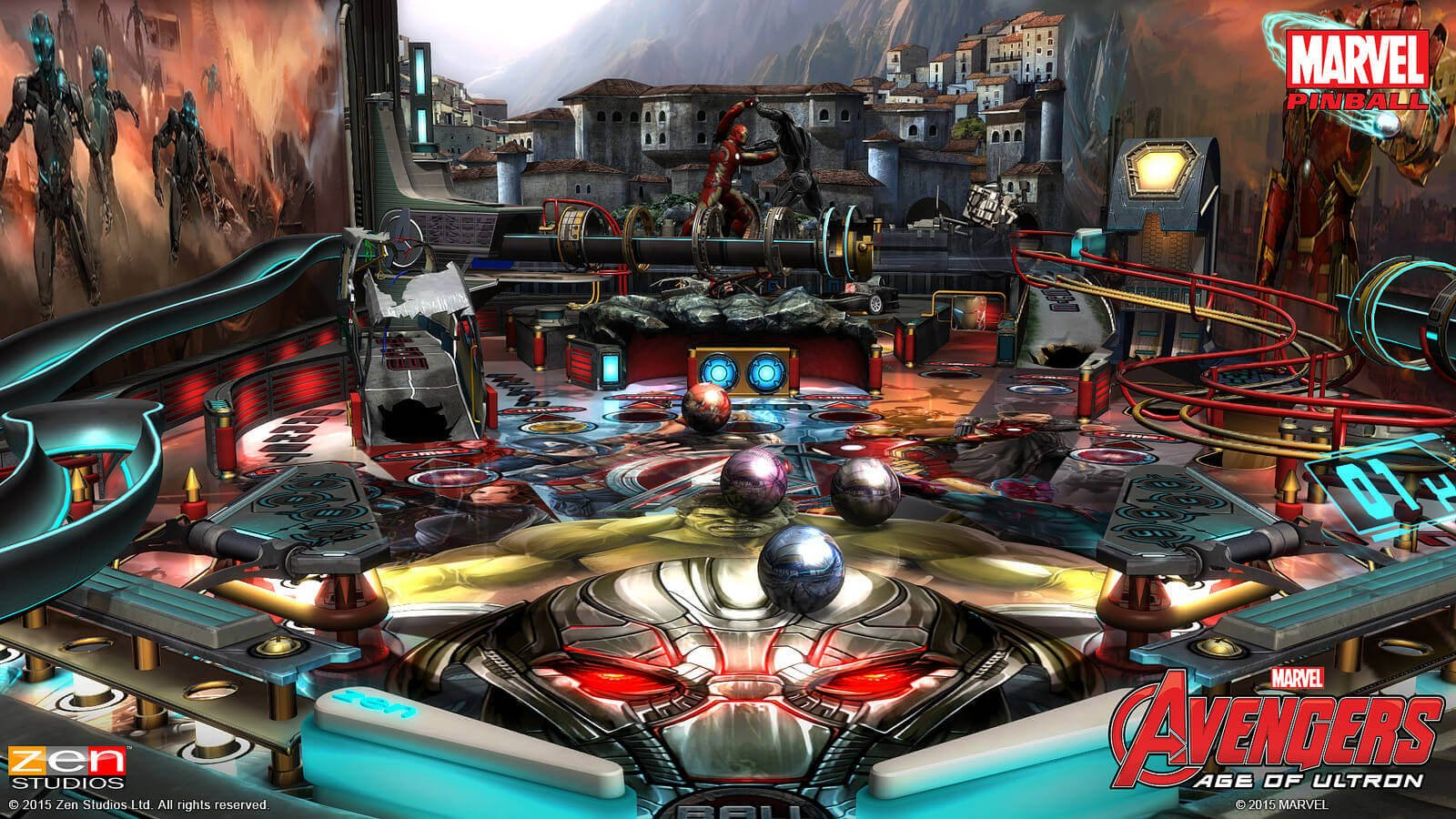 Avengers: Age of Ultron Gets Pinballed