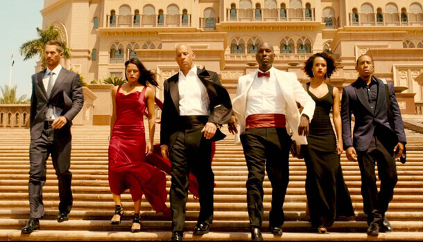 Furious 7 speeds to $143 million opening weekend