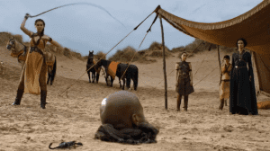 They should have called Bronn to dig the hole for this guy.