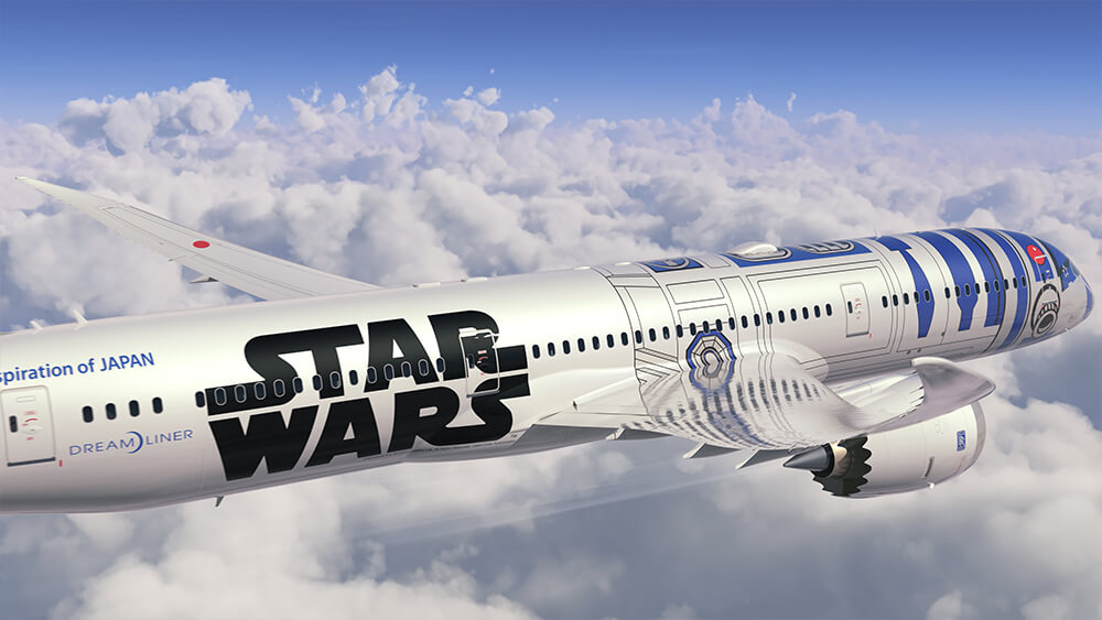 Star Wars R2-D2 Jet Announced