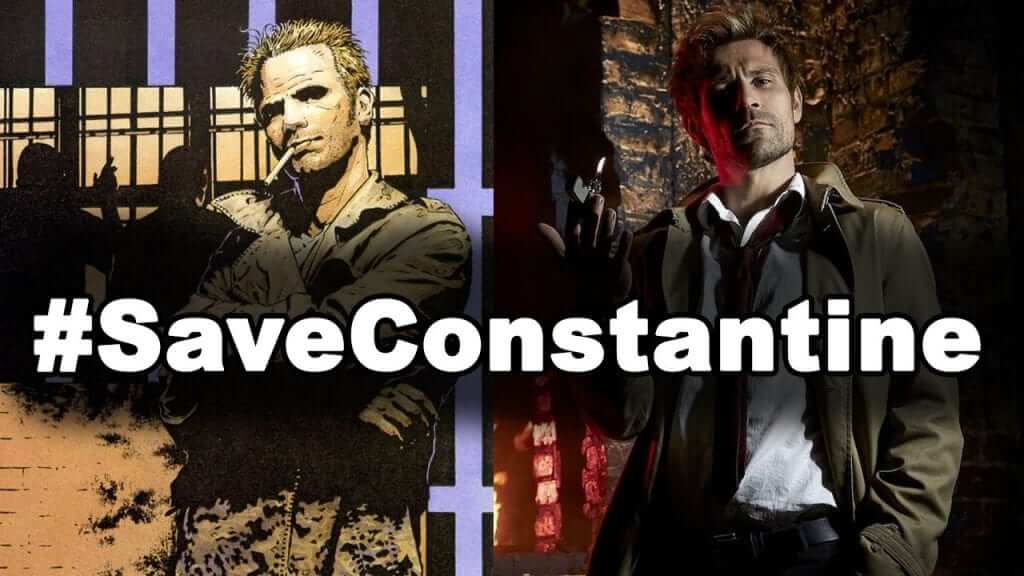 Go to Twitter to help support Constantine