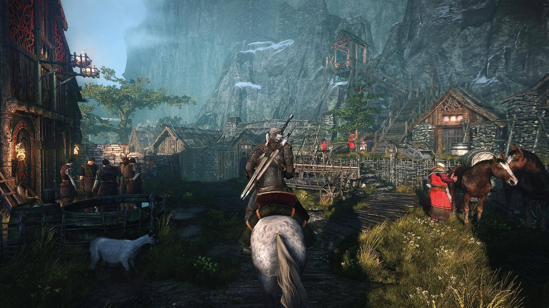 The Witcher 3: Wild Hunt's Living, Breathing, and Chaotic World