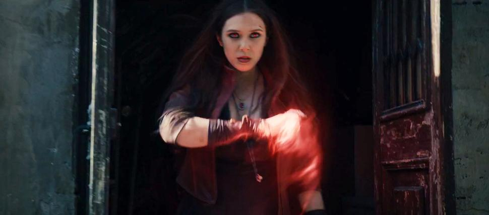 Elizabeth Olsen as Scarlet Witch. Image via Marvel
