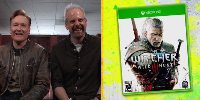 Conan O'Brien Plays 'The Witcher 3: Wild Hunt'