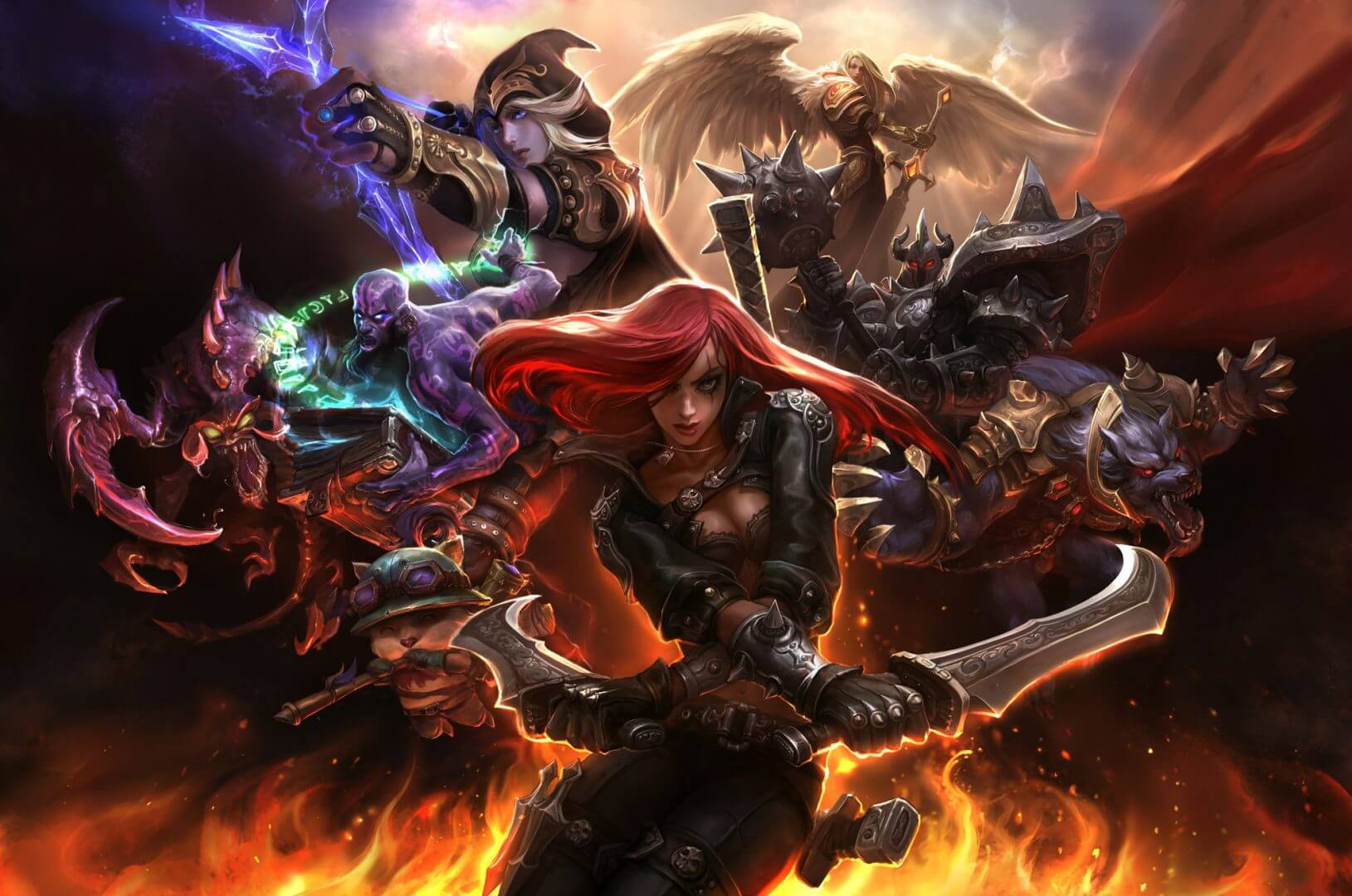 League of Legends Adds Hide Eye Candy