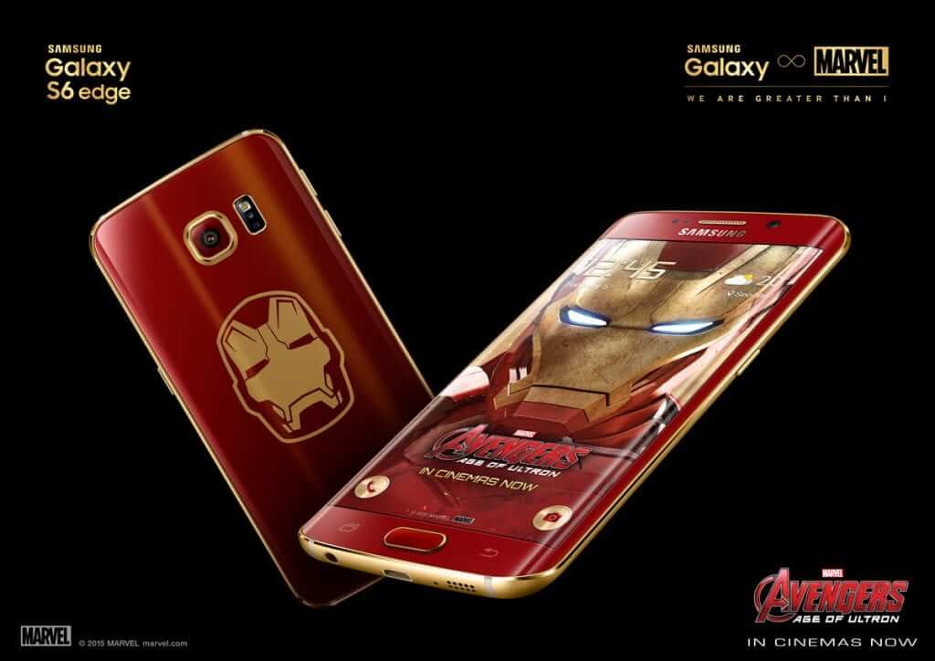 Samsung Officially Launch S6 Edge Iron Man Limited Edition
