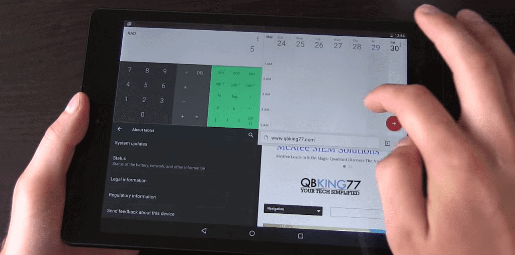 Android M Brings Split Keyboard and Multi-Windows