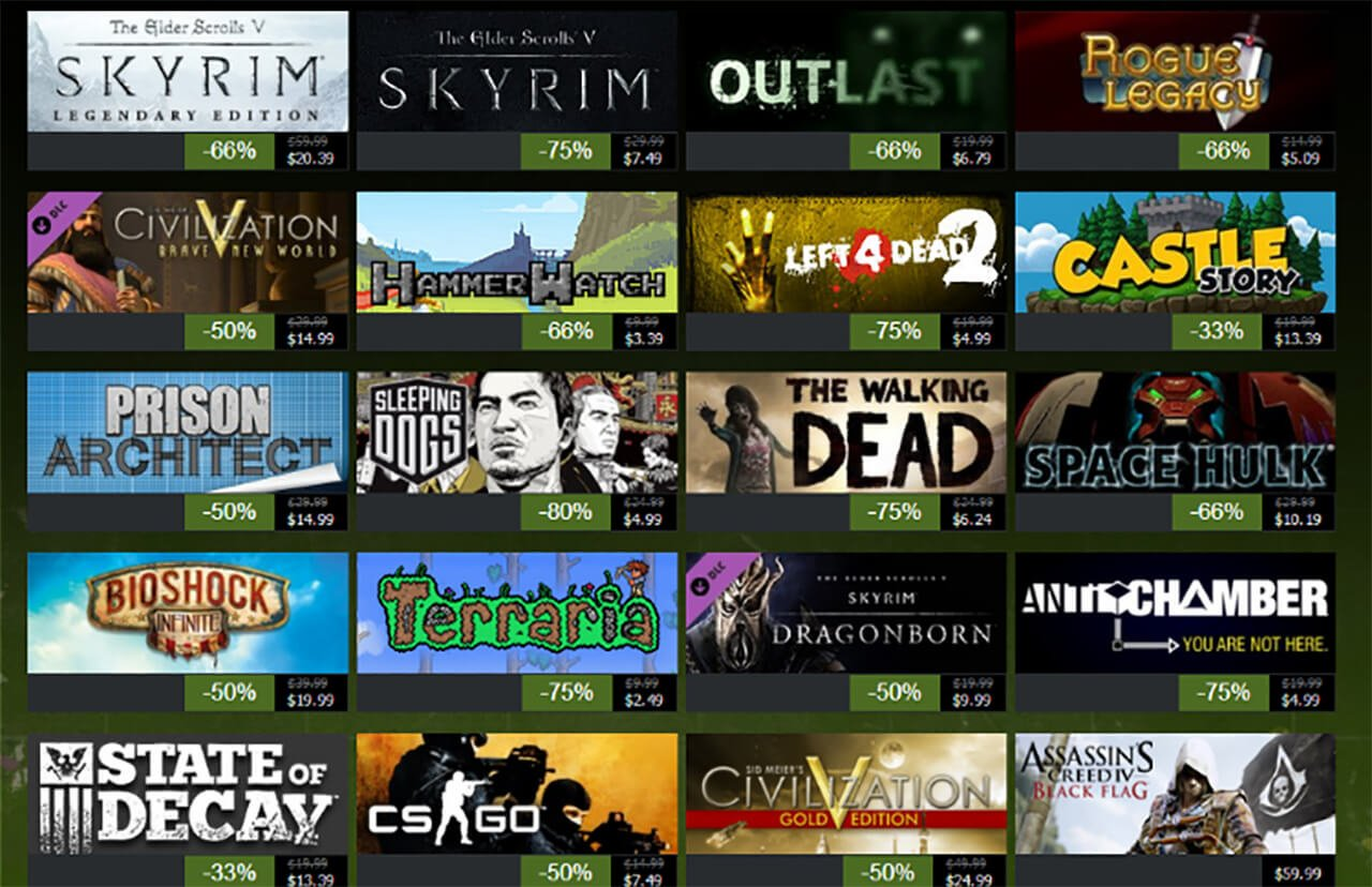 Steam Summer Sale Date Leaked