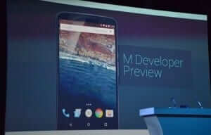 Android M announced at Google I/O 2015