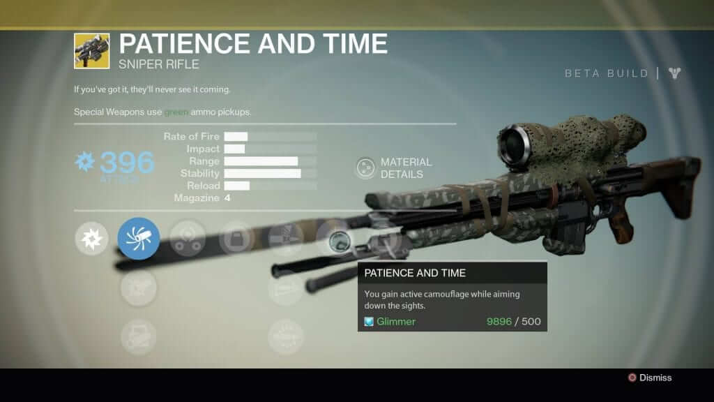 Patience and Time Sniper Rifle