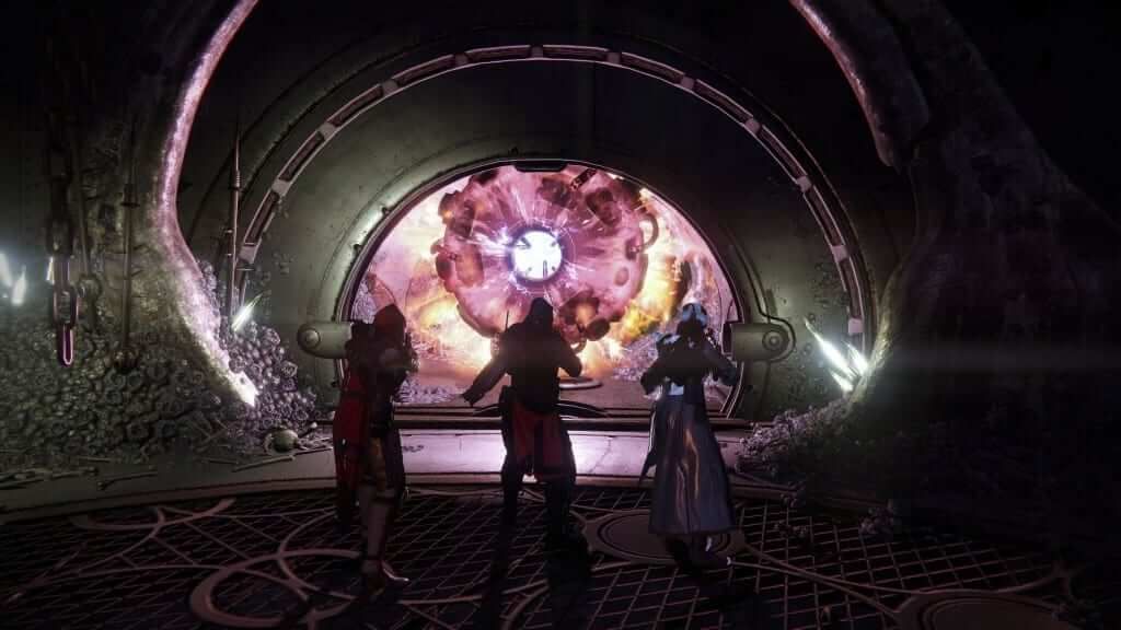 The entrance to the Prison of Elders