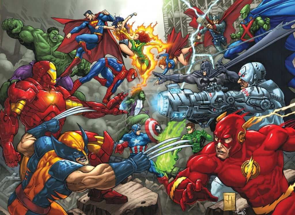 On Superheroes and Dramatic Tension