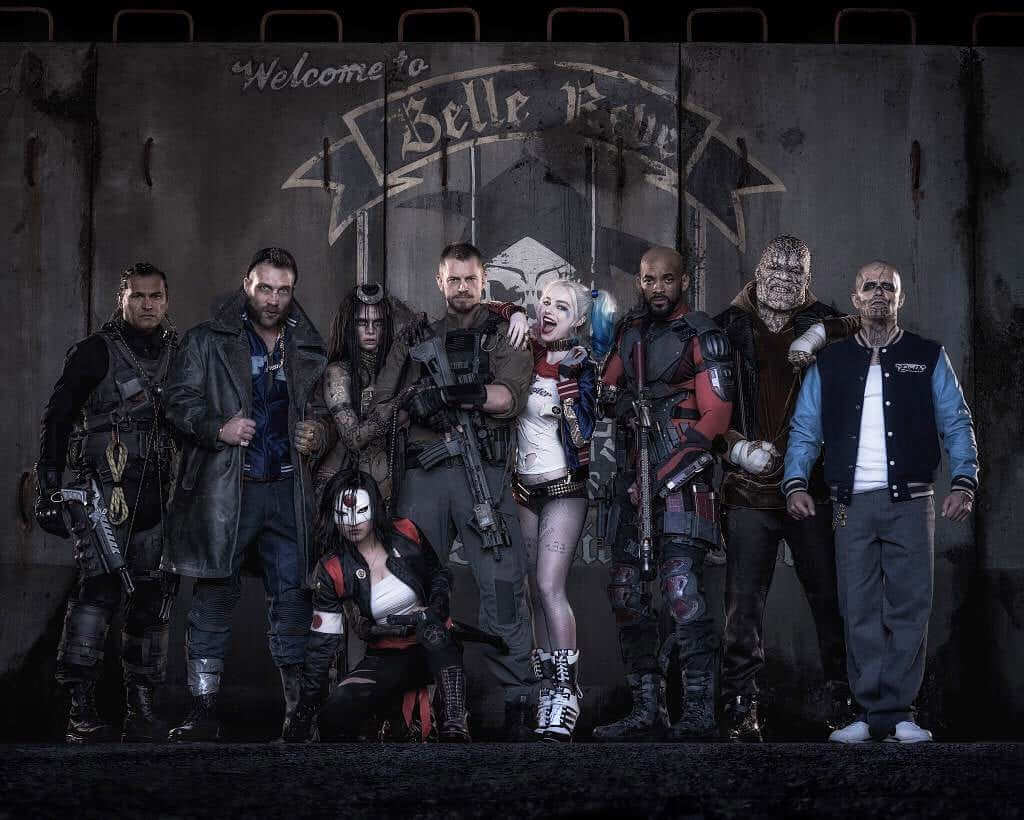 First Look At Entire Suicide Squad