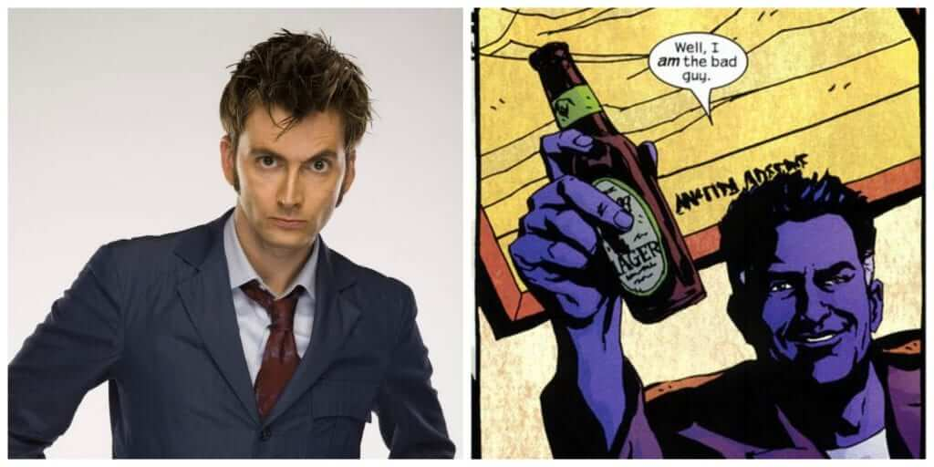David Tennant, AKA Jessica Jones, Luke Cage, and Netflix