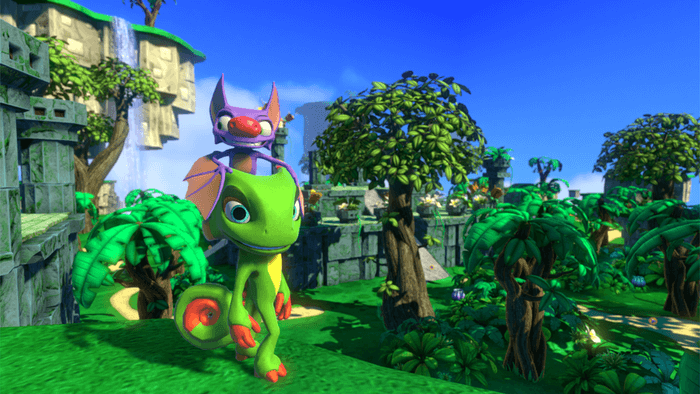 Yooka and Laylee thank you for your support!