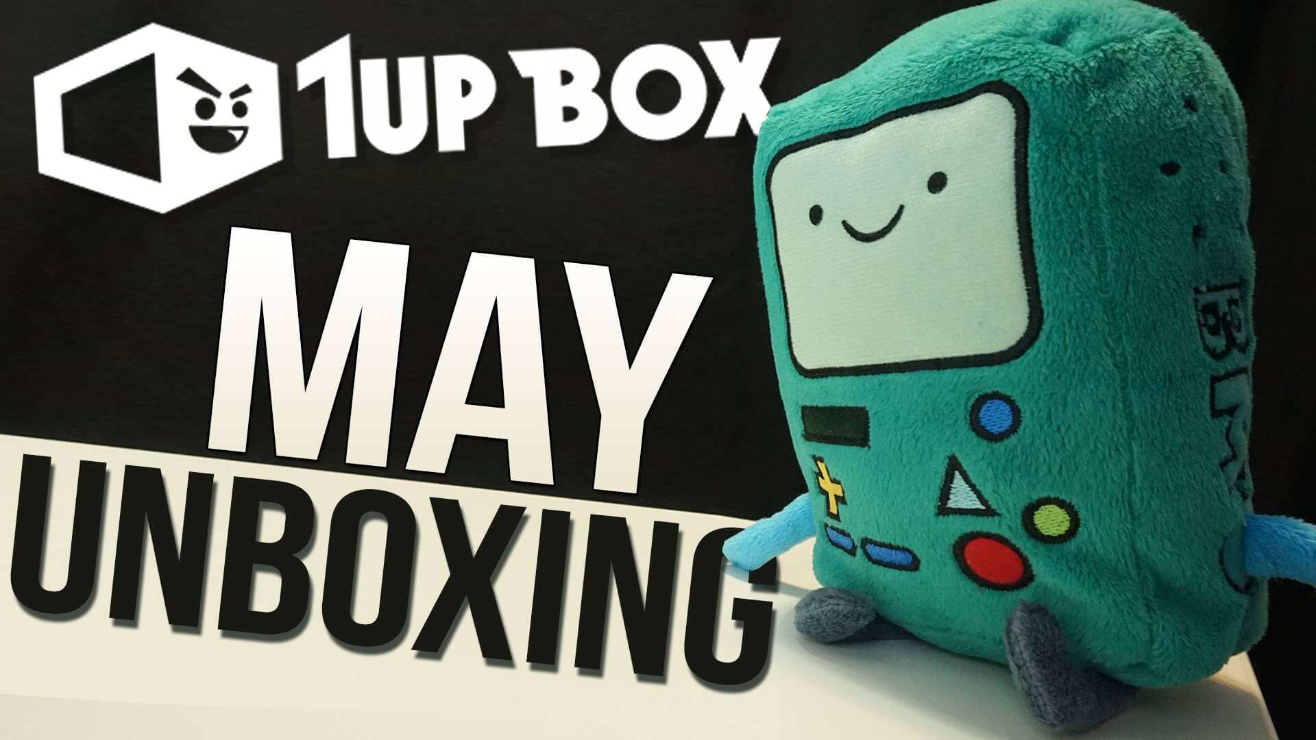 "1UP Box ""Sidekick"" Unboxing & Review – May 2015"