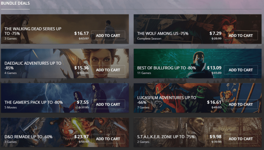 GOG 2015 DRM-Free Summer Sale