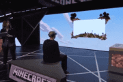 E3 2015: Microsoft Holo Lens Minecraft Shown Off