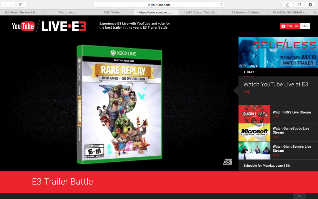 E3 2015: The Rare Collection is Coming