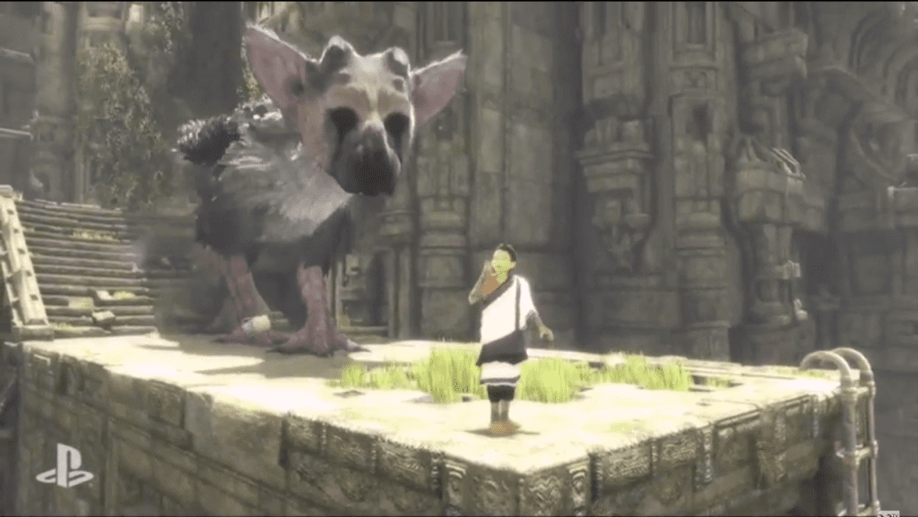 You can play The Last Guardian in 2016