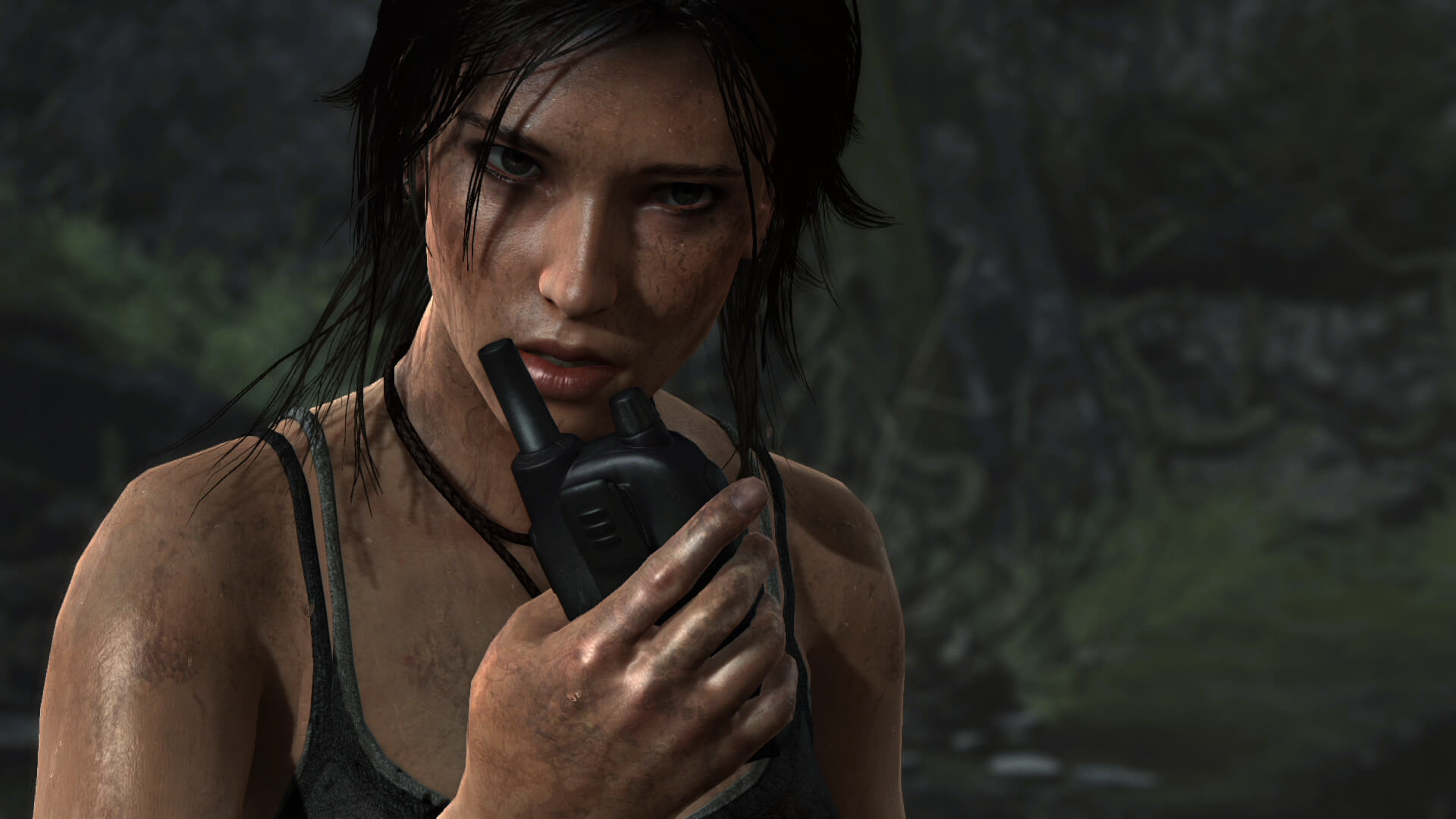 Lara Croft in 2014's Tomb Raider Definitive Edition.