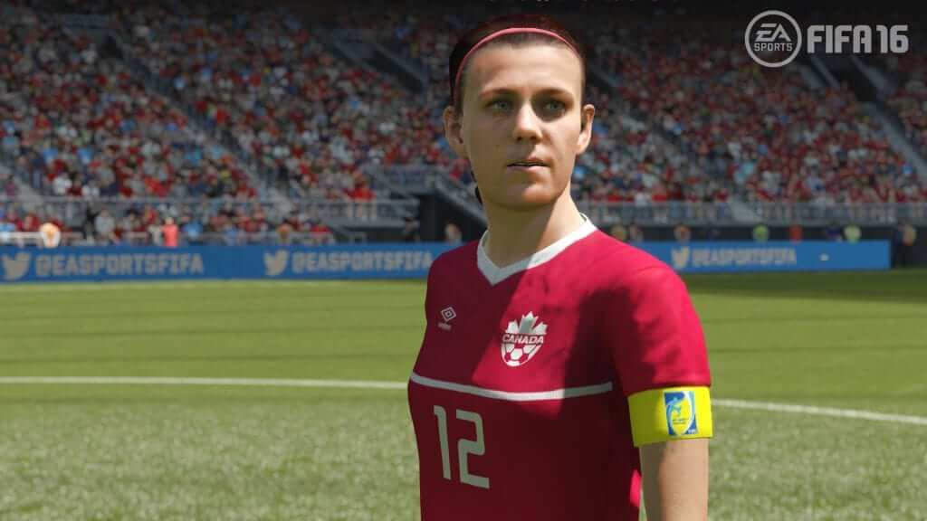 Female teams are confirmed for FIFA 16 - Good move EA