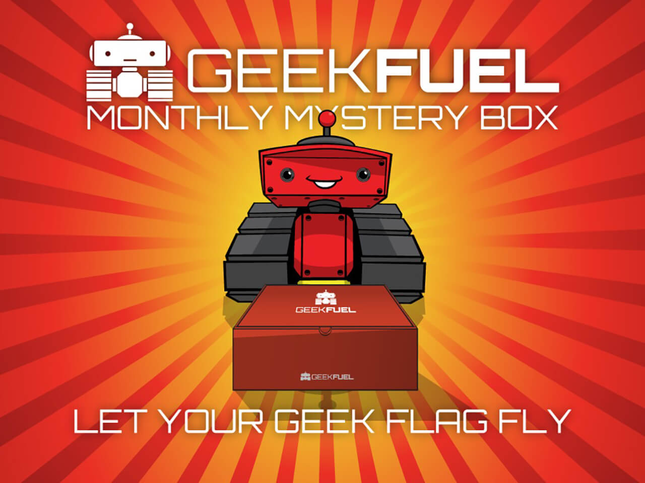 Geek Fuel: Unboxing May 2015