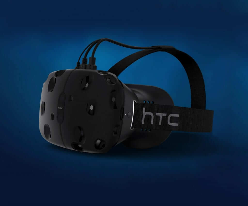 The Vive Headset created by HTC