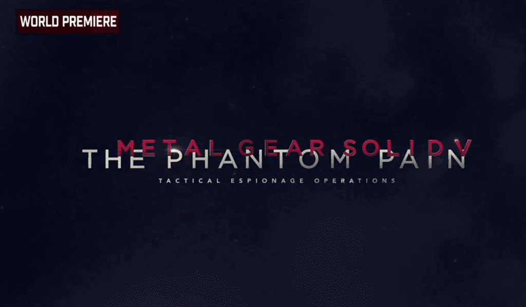 E3 2015: MGS 5: The Phantom Pain Gameplay Trailer