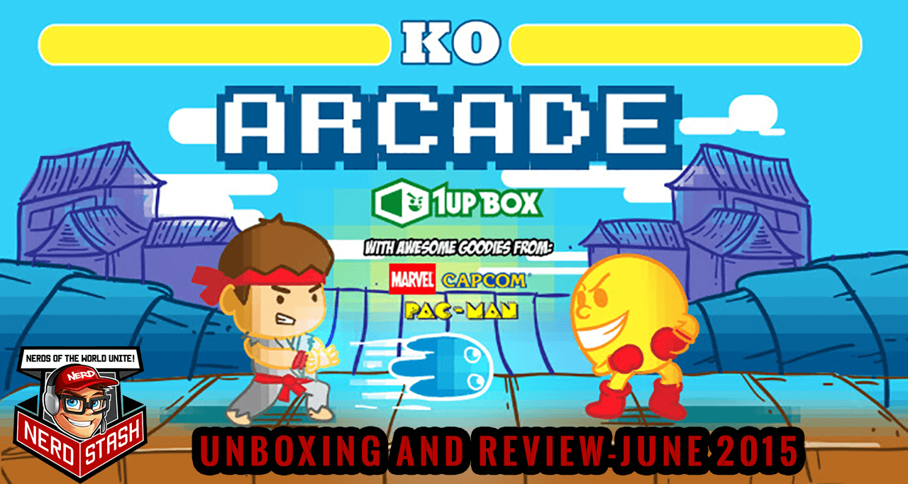 """1UP Box """"Arcade"""" Unboxing & Review – June 2015"""