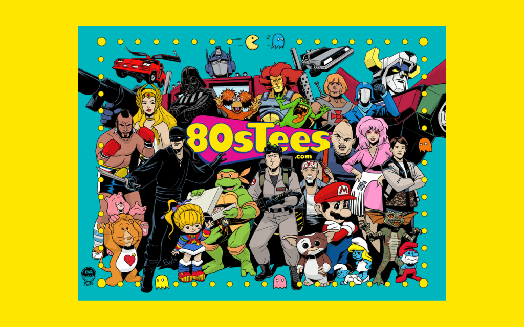 80sTees.com - Product Review and Useless 80's Facts!