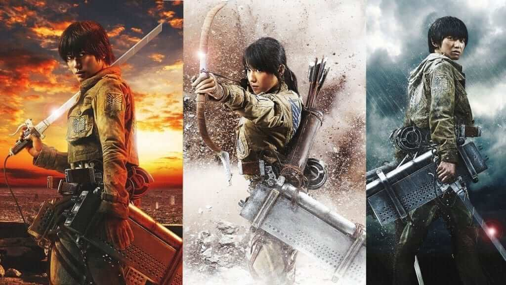 Live Action Attack on Titan Part I Trailer