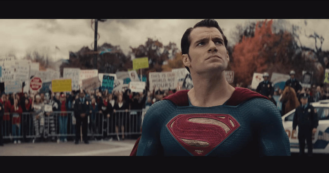 Henry Cavill returns as the iconic, if now dvisive, Superman