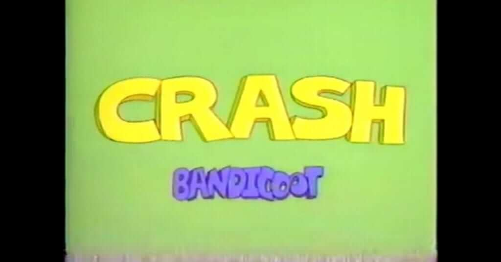 Crash Bandicoot Cartoon Video Surfaces Online